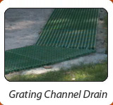 Grating Channel Drain
